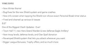 detail update coc 8.67.8