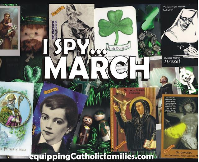 I Spy…March Saints!