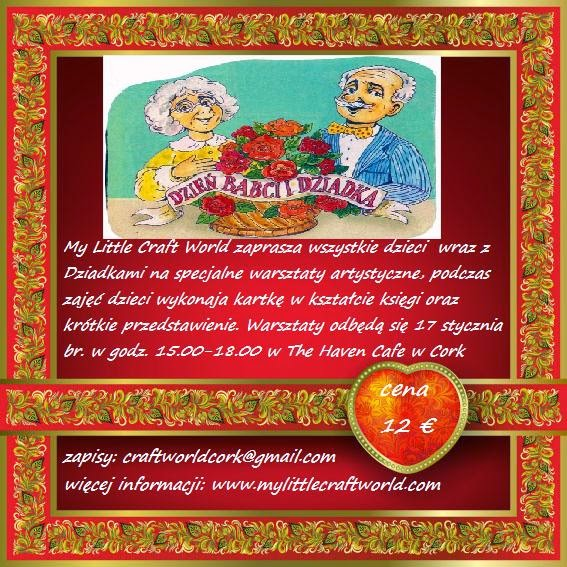 My Little Craft World Zaproszenie Na Specjalne Warsztaty Z Okazji