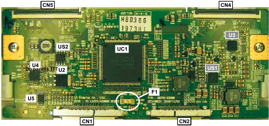 lg lk  lcd tv tcon board  lvds connector voltages and checks, wiring diagram