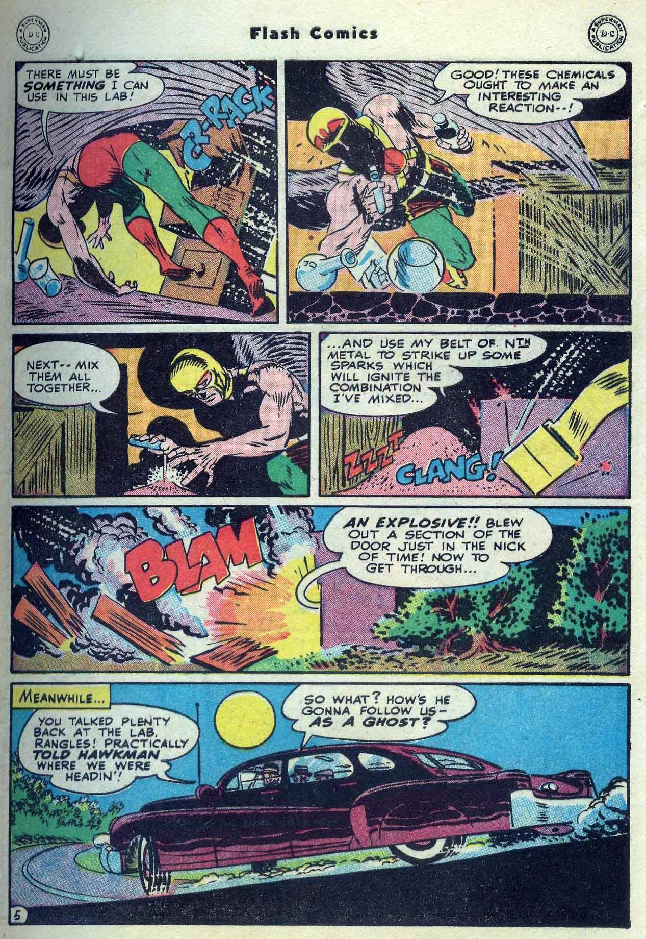 Flash Comics Issue #104 #104 - English 7