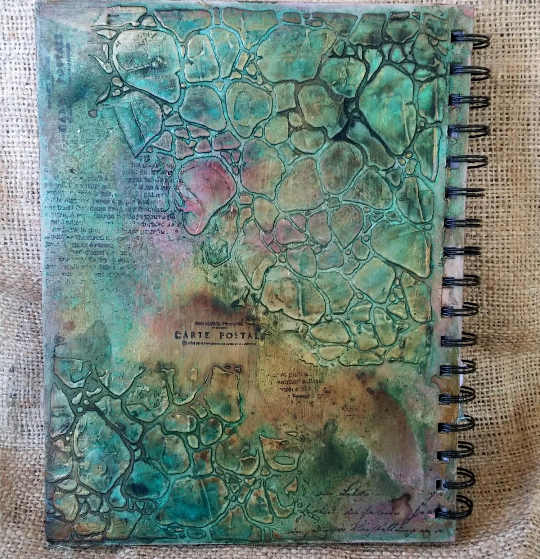 Art Journal Calendar Tutorial : Such a pretty mess video tutorial mixed media art