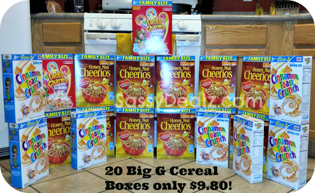 big g cereal boxes just 49 cents at kroger frys
