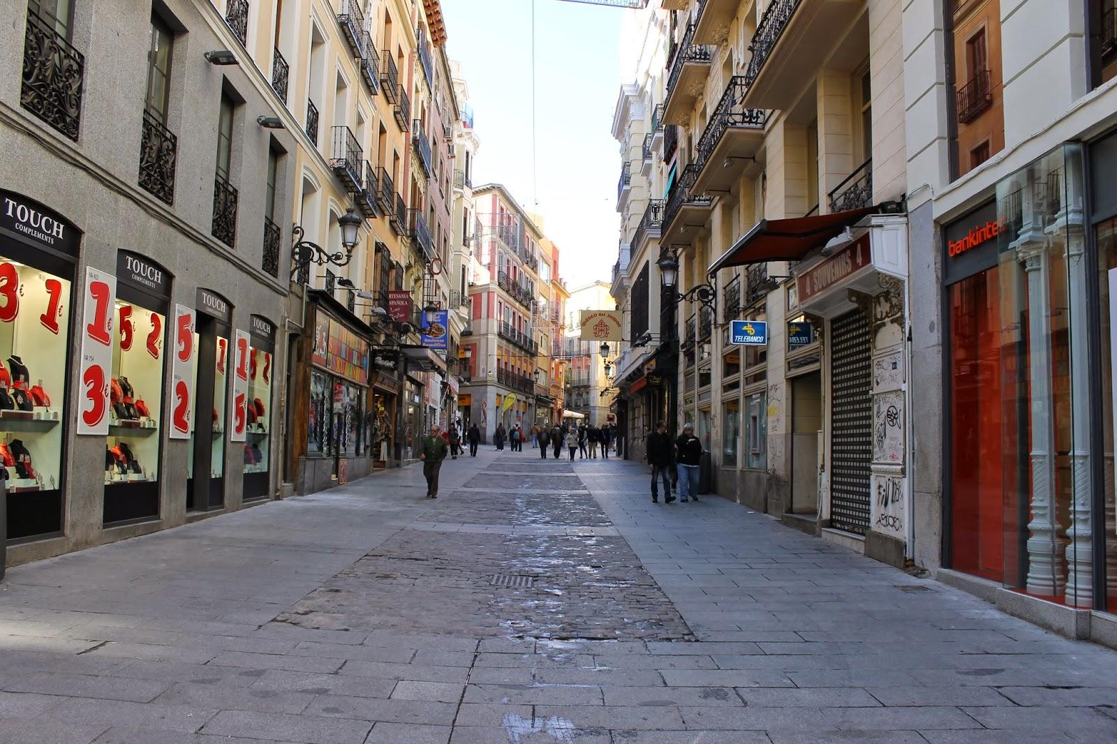 Ins lito callejero de madrid 18 calle de postas for Calle prado 8 madrid