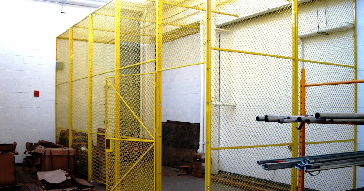 Wire Security Cages in Long Island City 11101 | NYC Security Cages