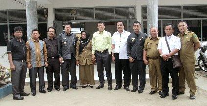 Anggota Legislatif Kota P.Sidimpuan Ikut Monitoring Pelaksanaan Ujian Nasional
