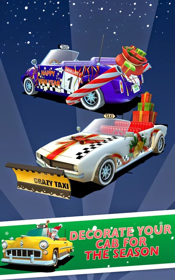 Crazy Taxi™ City Rush v1.4.0 Mod [Unlimited Money]
