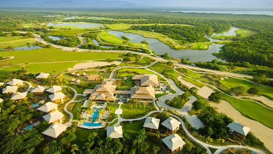 Beach and golf resort with real estate for sale in Tela, Honduras