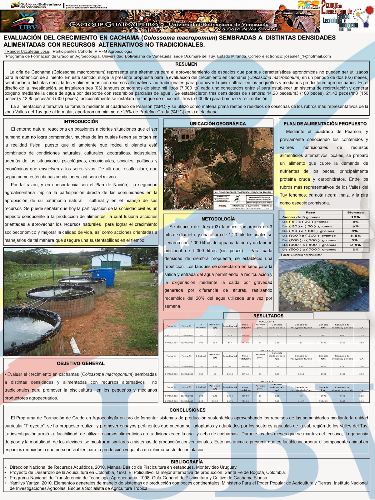 Www agroecologia vallesdeltuy blogspot com 2do congreso for Tanques para cachamas