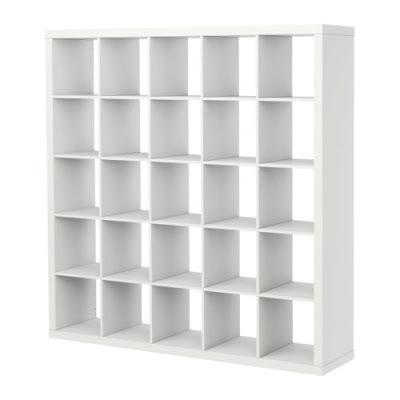 Diferentes utilidades de las estanterías expedit de Ikea