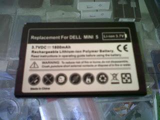 Baterai Dell Streak 5 High Capacity 1800mAh