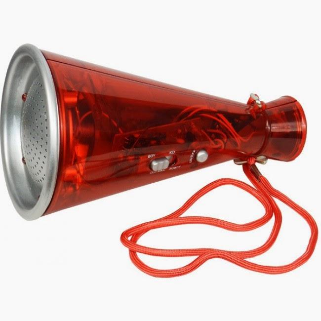 Megáfono Distorsionador de Voz