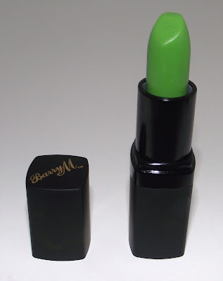 Barry M Green Lipstick Review - TMLP 304