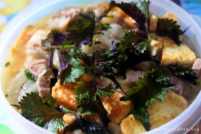 Cách nấu cà tím bung đậu thịt thật ngon
