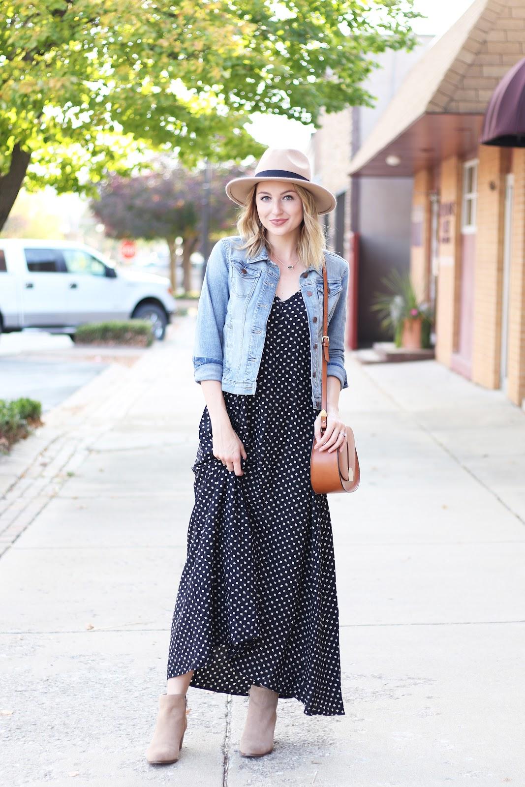 Love, Lenore: Fall Maxi Dress