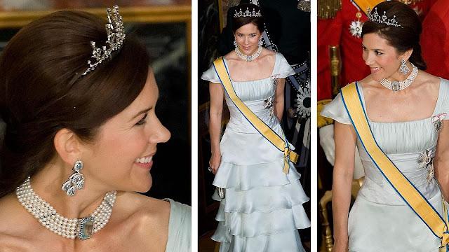 Prince Christian, 9, Princess Isabella, 7, and twins Prince Vincent and Princess Josephine