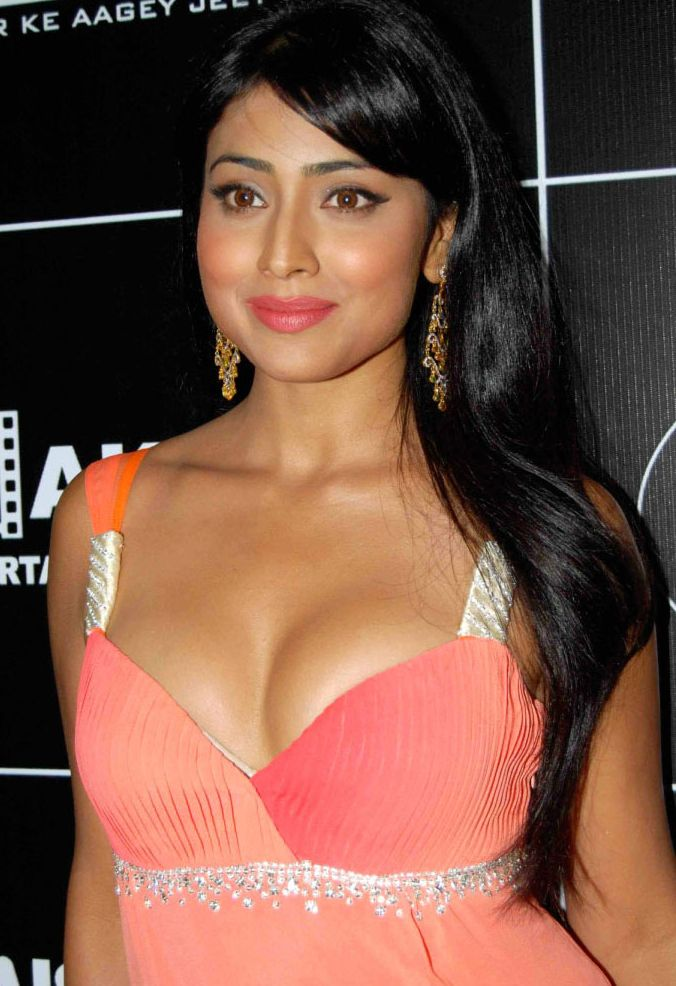 shriya saram hot navel and cleavage show photos mallufun
