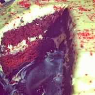 Ihana Red Velvet Cake - Halloween herkku!