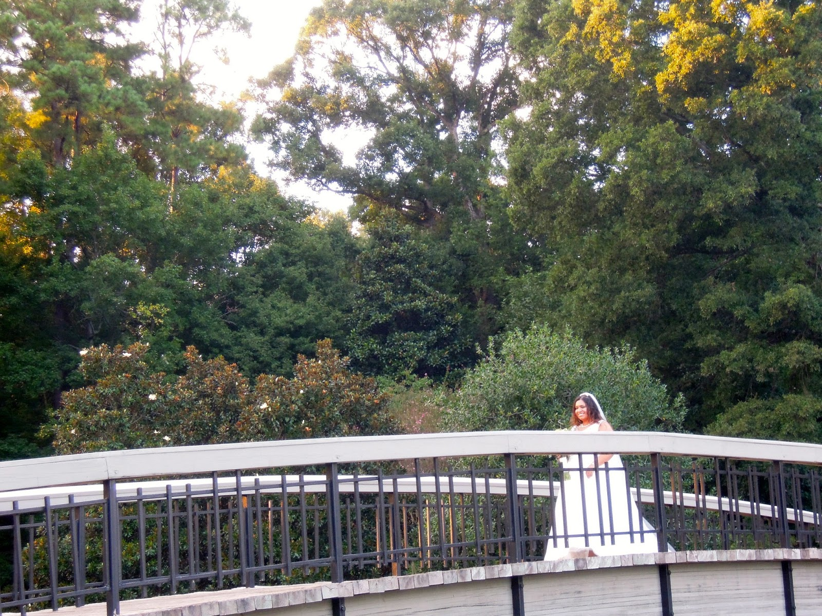 Raleigh Wedding Blog Sana and Thomas Wedding at Pullen Park Gazebo