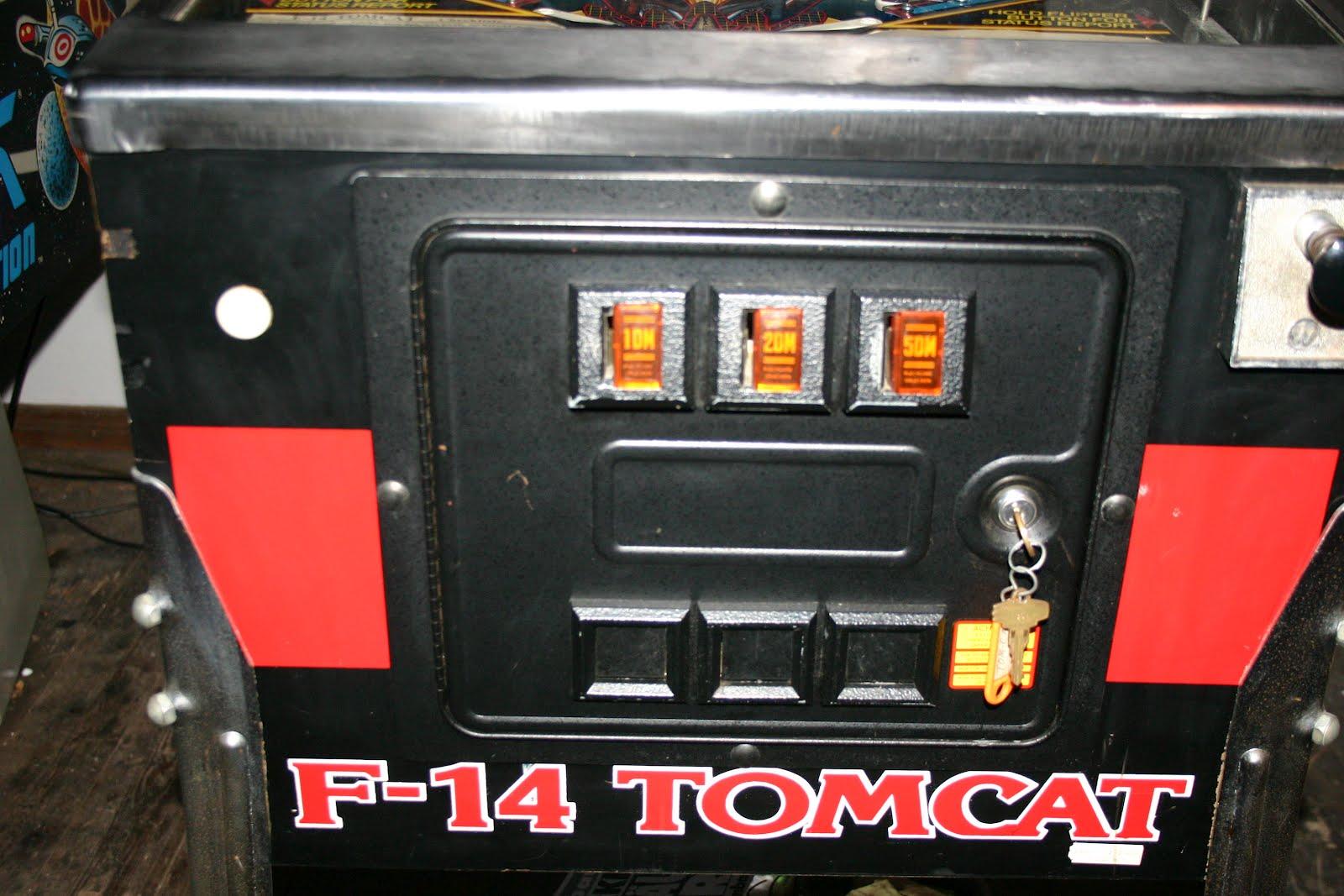 f 14 tomcat pinball manual