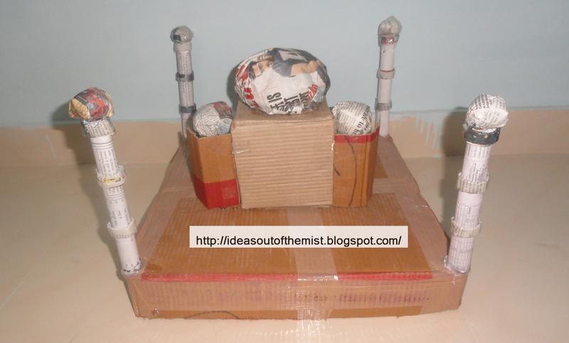 Ideas out of the mist how to make a paper mache model for Paper mache art and craft