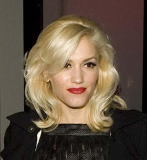 Gwen Stefani medium hairstyles