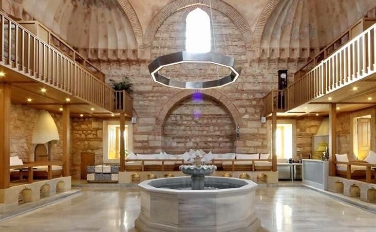 Kilic Ali Pasha Mosque, relaxation area - Istanbul