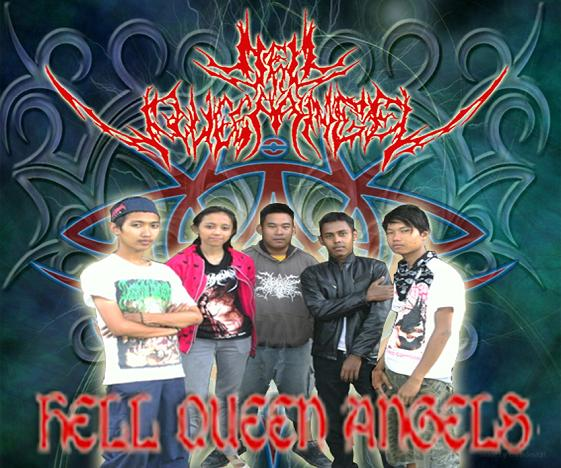 Hell Queen Angel Pekalongan Gothic Metal
