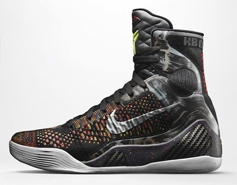 "NBA 2K14 Nike Kobe 9 Elite ""Masterpiece"" Shoes Patch"