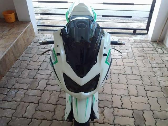 Modifikasi Yamaha Vixion Ala Kawasaki \Ninja 250