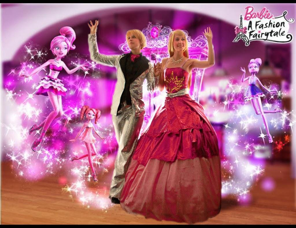 barbie a fashion fairytale wallpapers