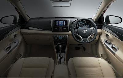 spesifikasi Toyota Vios 2013