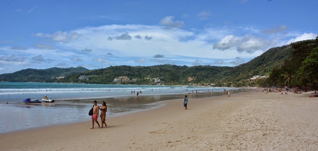 Patong Beach Phuket sand
