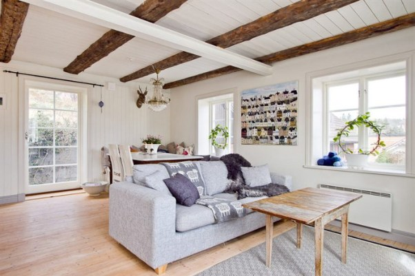 Отделка дома в скандинавском стиле своими руками