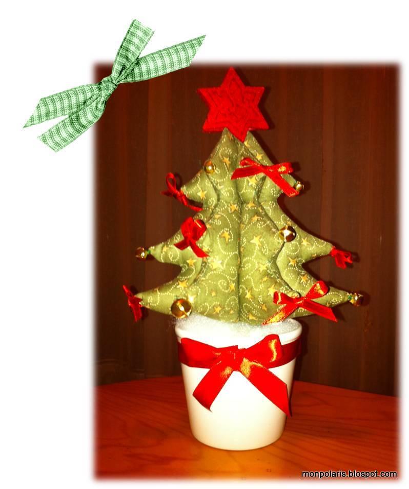 Mon polaris m s adornos navide os el rbol y las bolas - Adornos navidenos en tela ...