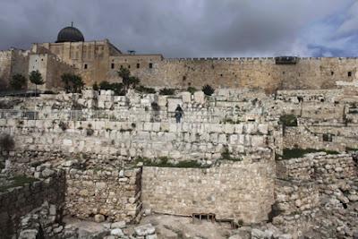 A sagrada localização do Templo