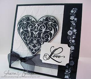 Invitación blanco y negro para boda