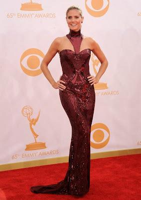 Heidy Klum, de Versace Emmy 2013