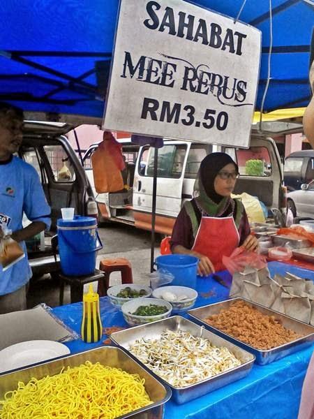 Mee Rebus Sahabat - Bazar Ramadan Taman Ungku Tun Aminah (TUTA) 2014
