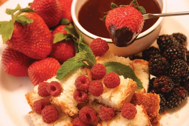 Chocolate Hazelnut Fondue With Frangelico Recipes — Dishmaps