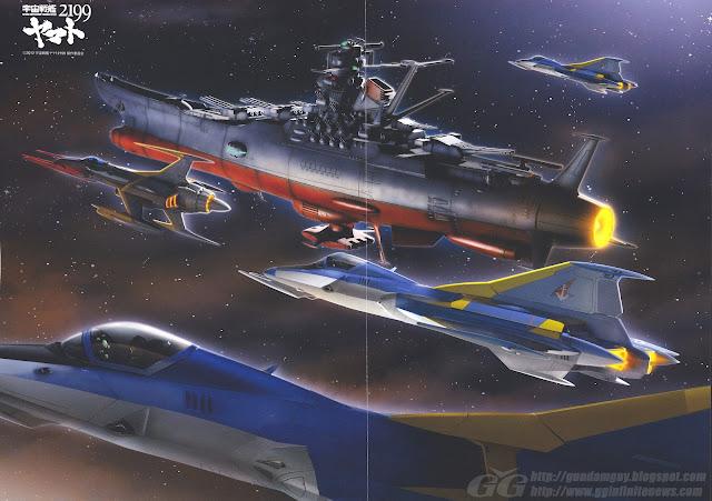 Space Battleship Yamato 2199 Poster Images ? Degeki Hobby (May Issue