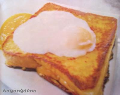 Roti Celup Telur + Telur