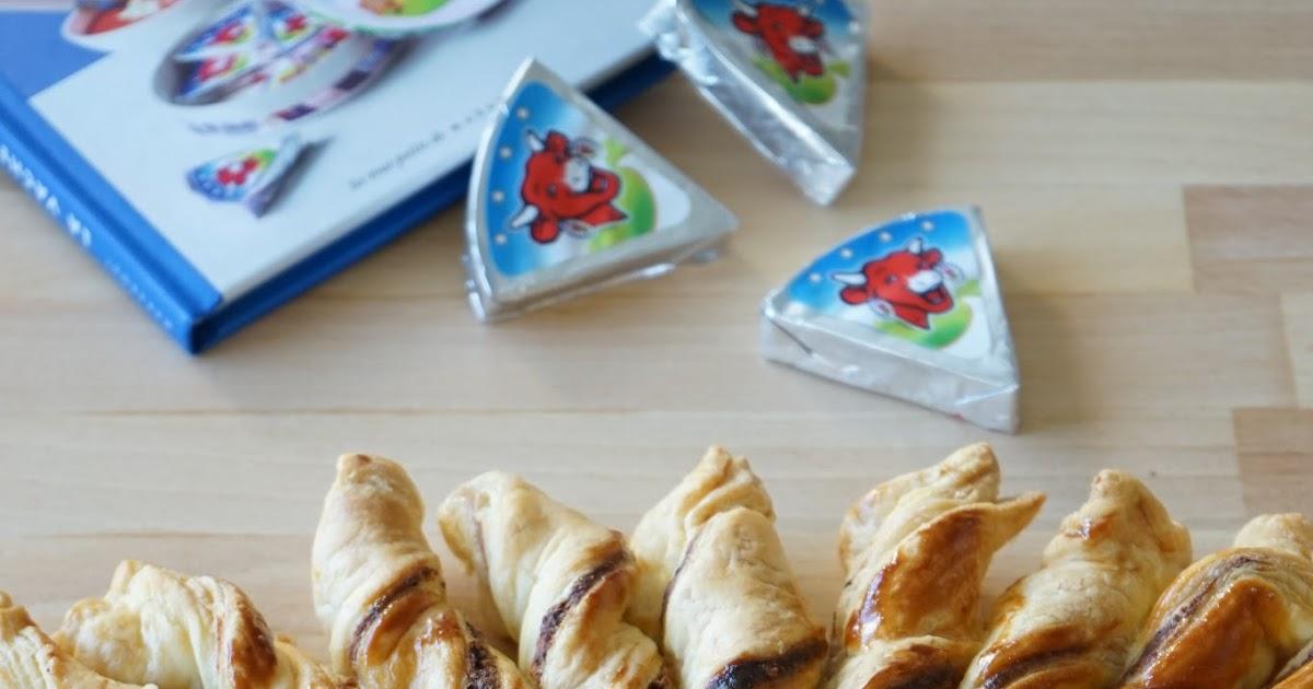 the cook time: tarte soleil vache qui rit, jambon, gruyère et