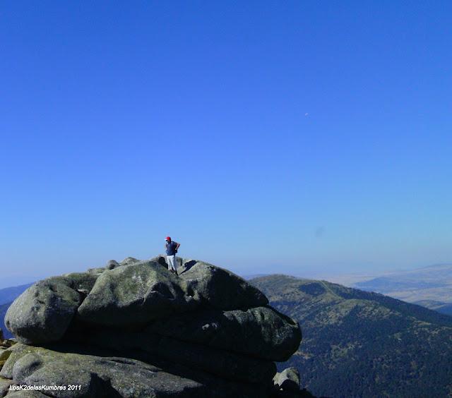 Siete Picos 2º de los Siete, y el que tiene las mejores vistas, Sierra de Guadarrama