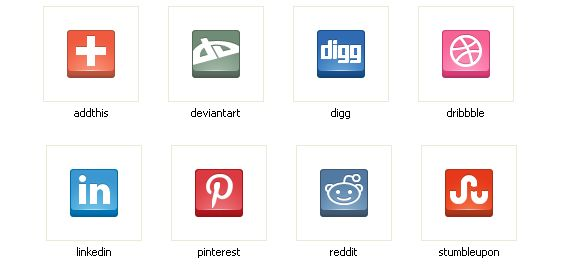140+ Free Social Web Icons Set Pack Download