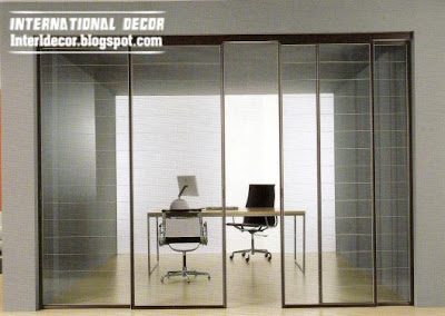 Interior Decor Idea: Modern sliding doors designs wide for office ...
