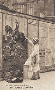 Le colleur d'affiches