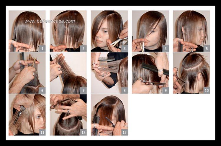 cortes de pelo para cabello fino y lacio paso a paso !!! - bella