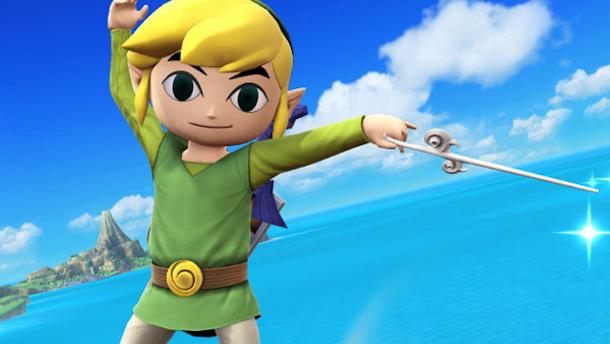 Toon Link estará en Super Smash Bros. para Wii U y Nintendo 3DS