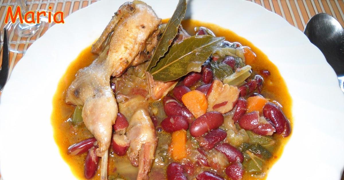 En la cocina alubias rojas con codornices - Alubias con codornices ...